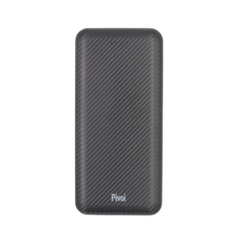 Pivoi 10000mAh Portable Power Bank Charger With Dual USB Ports