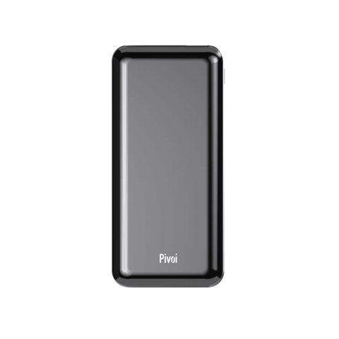 Pivoi 10000mAh QI Wireless LCD Power Bank Charger With PD QC3.0 USB Ports