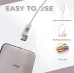 Voi USB-C to Lightning PD Charging Cable White | 1 Pack