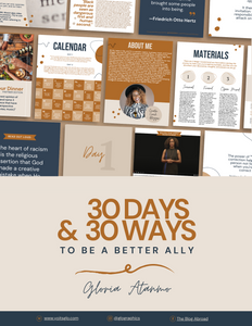 30 Days & 30 Ways To Be a Better Ally