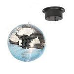 Mirror Ball plain 12inch with Motor