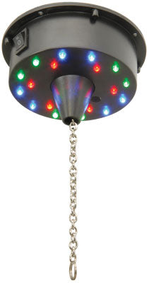 Mirror ball motor with LED,s