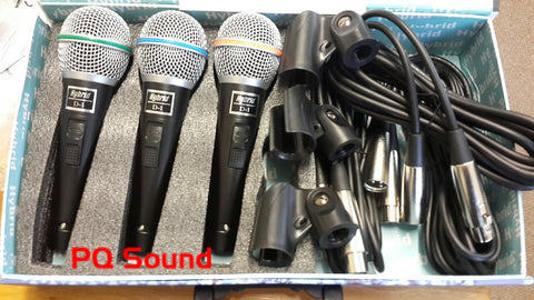 Hybrid D-1 3pack Microphone