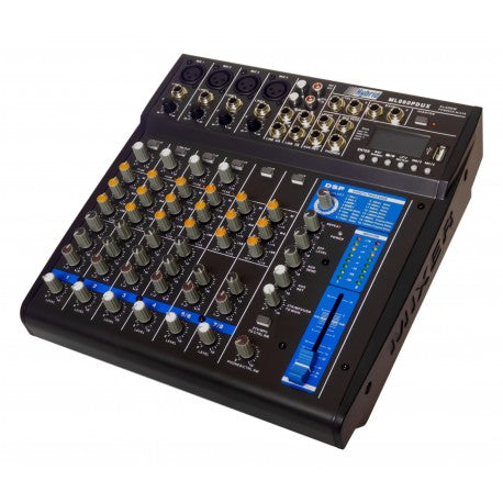 Hybrid ML860PDUX powered Mixer
