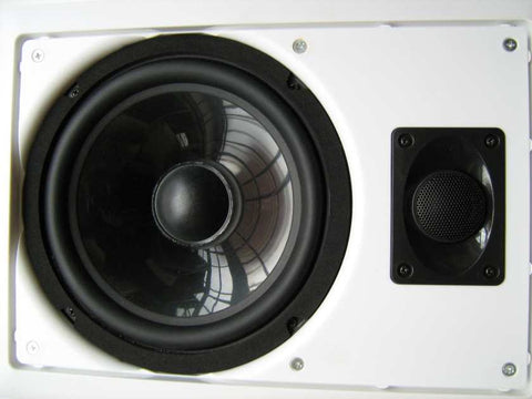 "Ceiling / In Wall speaker 8"" 100w 2way Oblong"