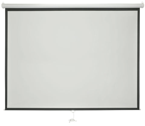 AV Link 100in Manual Projector Screen 4:3
