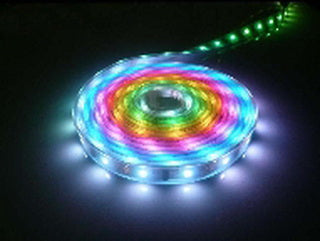 LED Flexible 5Mtr strip light RGB set
