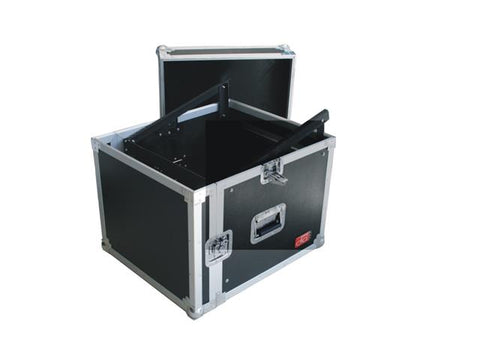 Flight Case 4U Amp+Mixer