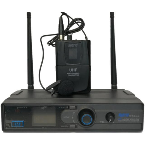 Hybrid UHF Single lapel Wireless