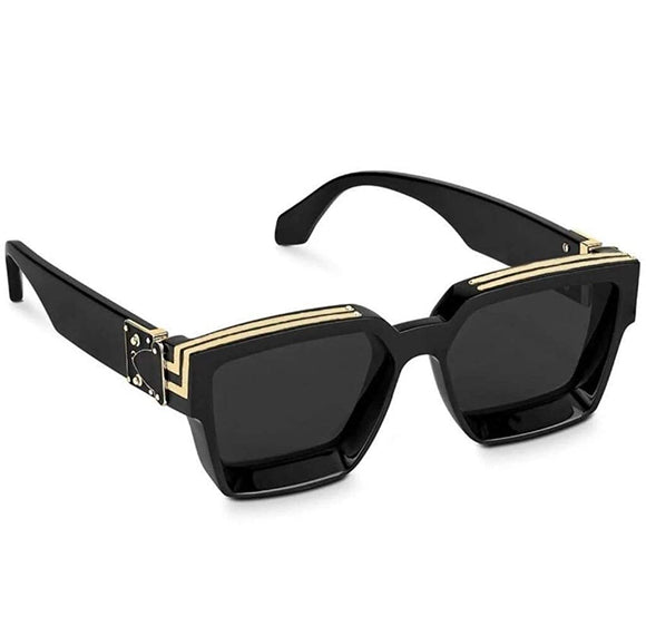 BLACK GOLD TRENDY FAMOUS BADSHAH | JAS MANAK | SAHIL KHAN SQUARE UNISEX STYLISH SUNGLASSES