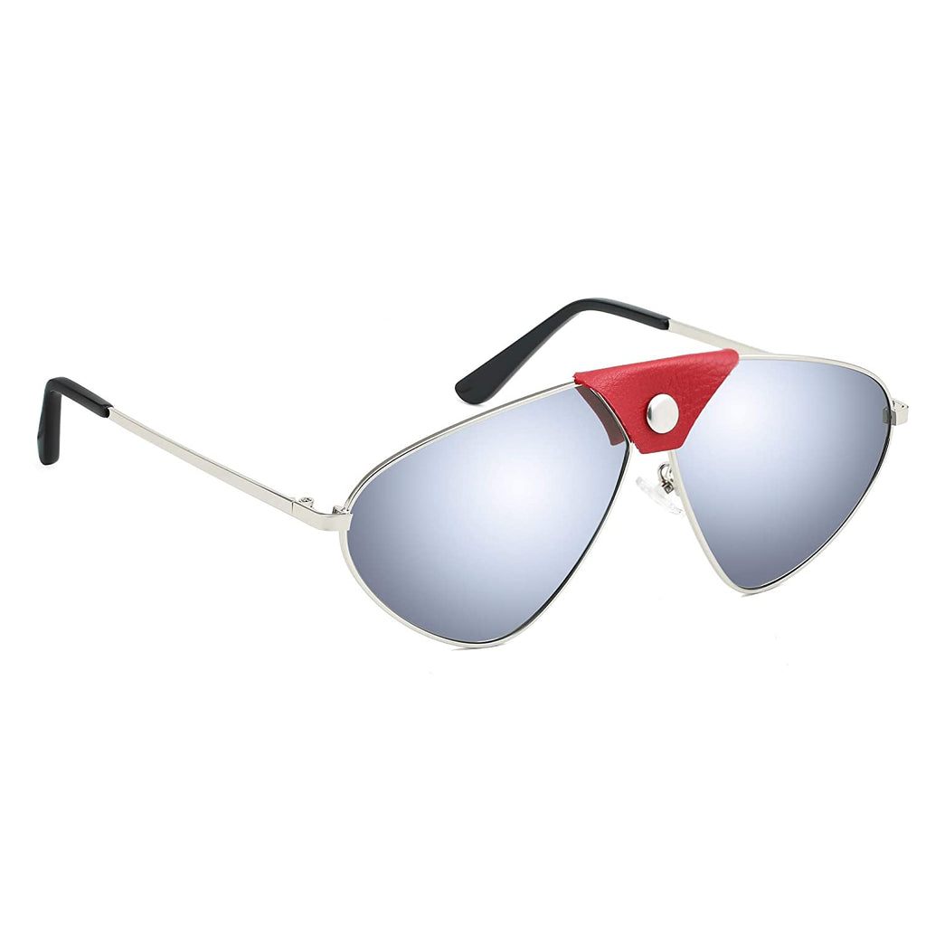 Mens Cat Eye Sunglasses Frame Colour-Grey, Lens Colour- Grey