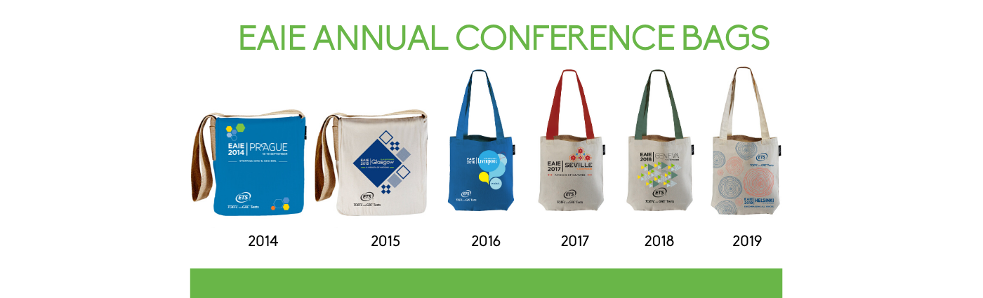 Sustainable EAIE bags from Township®
