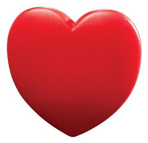 Big Red Plastic Lighted Heart
