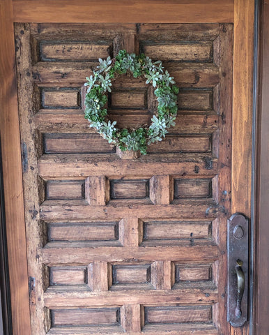 1) Succulent Wreath  14""