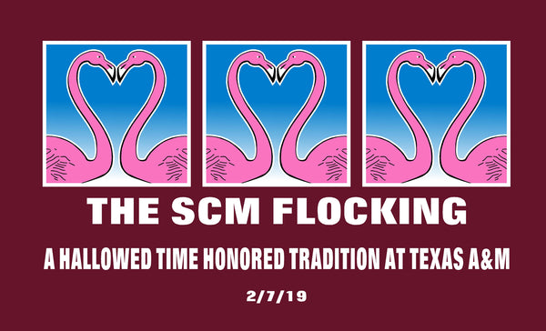 "Spring 2019 SCM Flocking  ""Flocker"" T-Shirt"