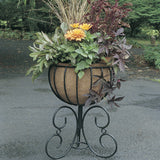 Heavy Duty Classic English Metal Metal Urn Planter - New Lower Cost - 2 sizes (requires coco liner)