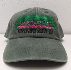 * NEW ITEM*    2018 Christmas Trees & flamingos Cap