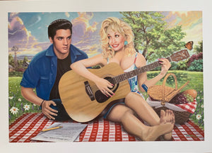 """I Will Always Love You"" (Elvis Presley & Dolly Parton) - Print"