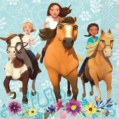SPIRIT RIDING FREE LUNCHEON NAPKINS