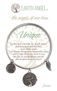 EARTH ANGEL CHARM BRACELET
