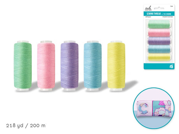 SEWING THREAD PASTELS