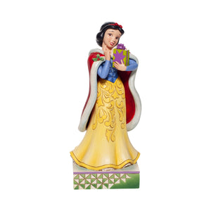 CHRISTMAS SNOW WHITE FIGURINE