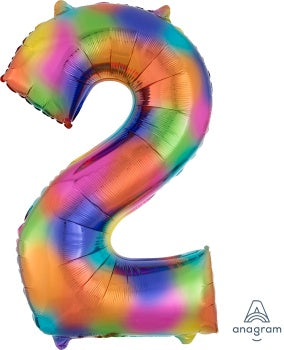 SUPERSHAPE NUMBER 2 RAINBOW SPLASH
