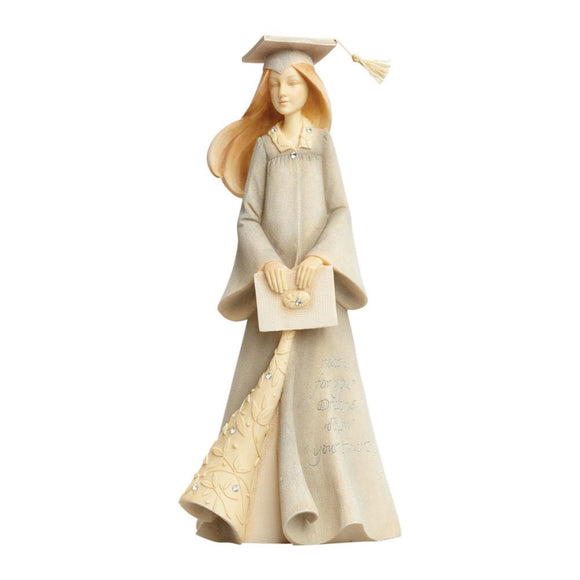 GRADUATION GIRL FIGURINE