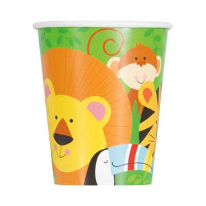 ANIMAL JUNGLE 9OZ CUPS