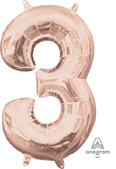 SUPERSHAPE NUMBER 3 ROSE GOLD