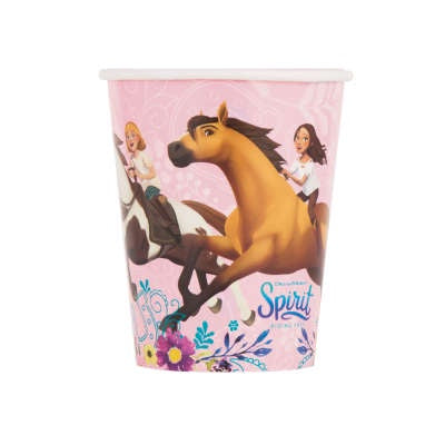 SPIRIT RIDING FREE  9OZ CUPS