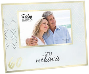 60TH 4 X 6 PICTURE FRAME
