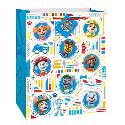 LARGE PAW PATROL GIFT BAG