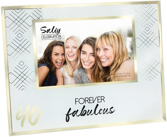 40TH 4X6 PICTURE FRAME