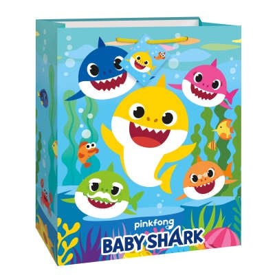 BABY SHARK LARGE GIFTBAG