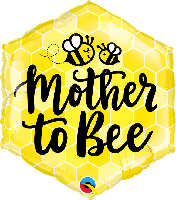 MOTHER TO BEE HEXAGON BALLOON