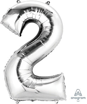 SUPERSHAPE NUMBER 2 SILVER