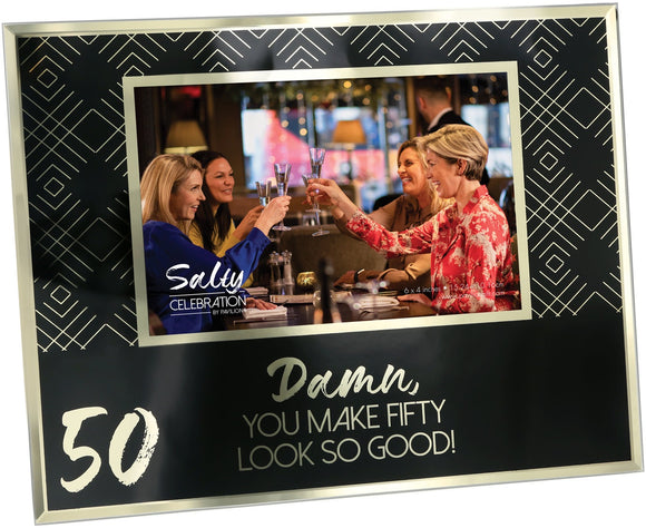 50TH 4 X6 PICTURE FRAME