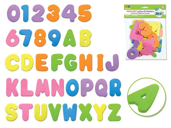 KRAFTY KIDS LETTERS AND NUMBERS - PASTEL