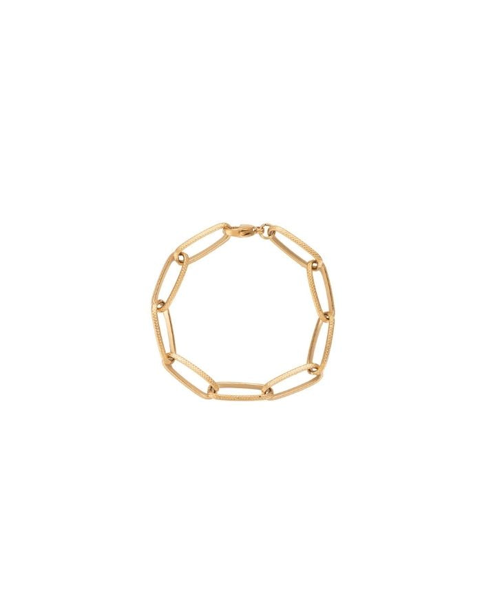 Armband 'Statement Chain' I Gold