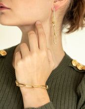 Laden Sie das Bild in den Galerie-Viewer, Armband 'Statement Chain' I Gold