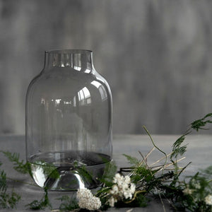 Vase Shaped Grey