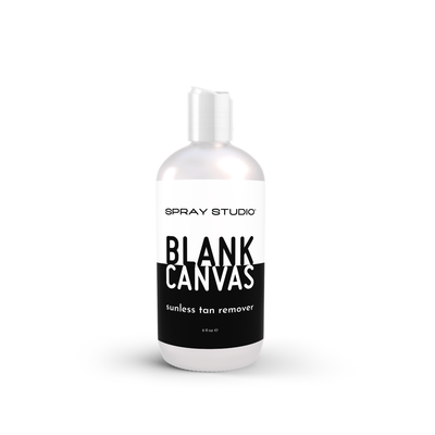 Blank Canvas Sunless Tan Remover, Body Scrub, Spray Studio - Spray Studio | art of sunless. life of sun. | art of sunless. life of sun.