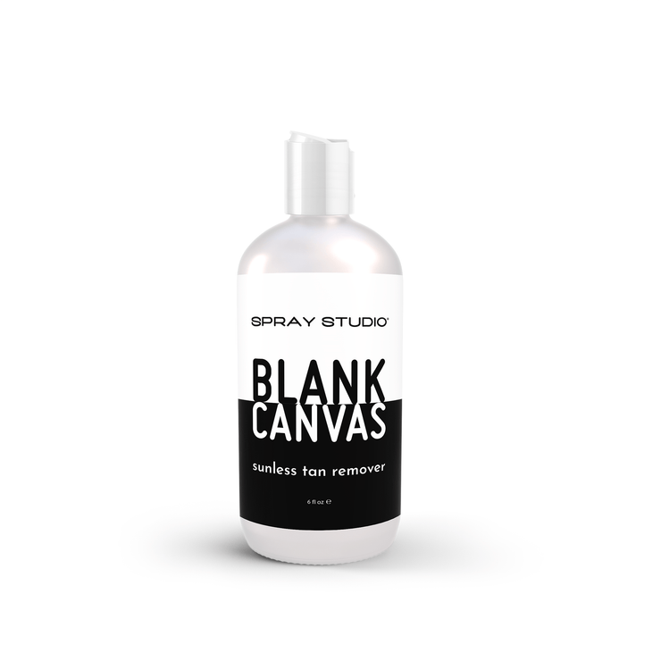 Blank Canvas Sunless Tan Remover, Body Scrub, Spray Studio - SPRAY STUDIO® | sunless tanning and body care | art of sunless. life of sun.