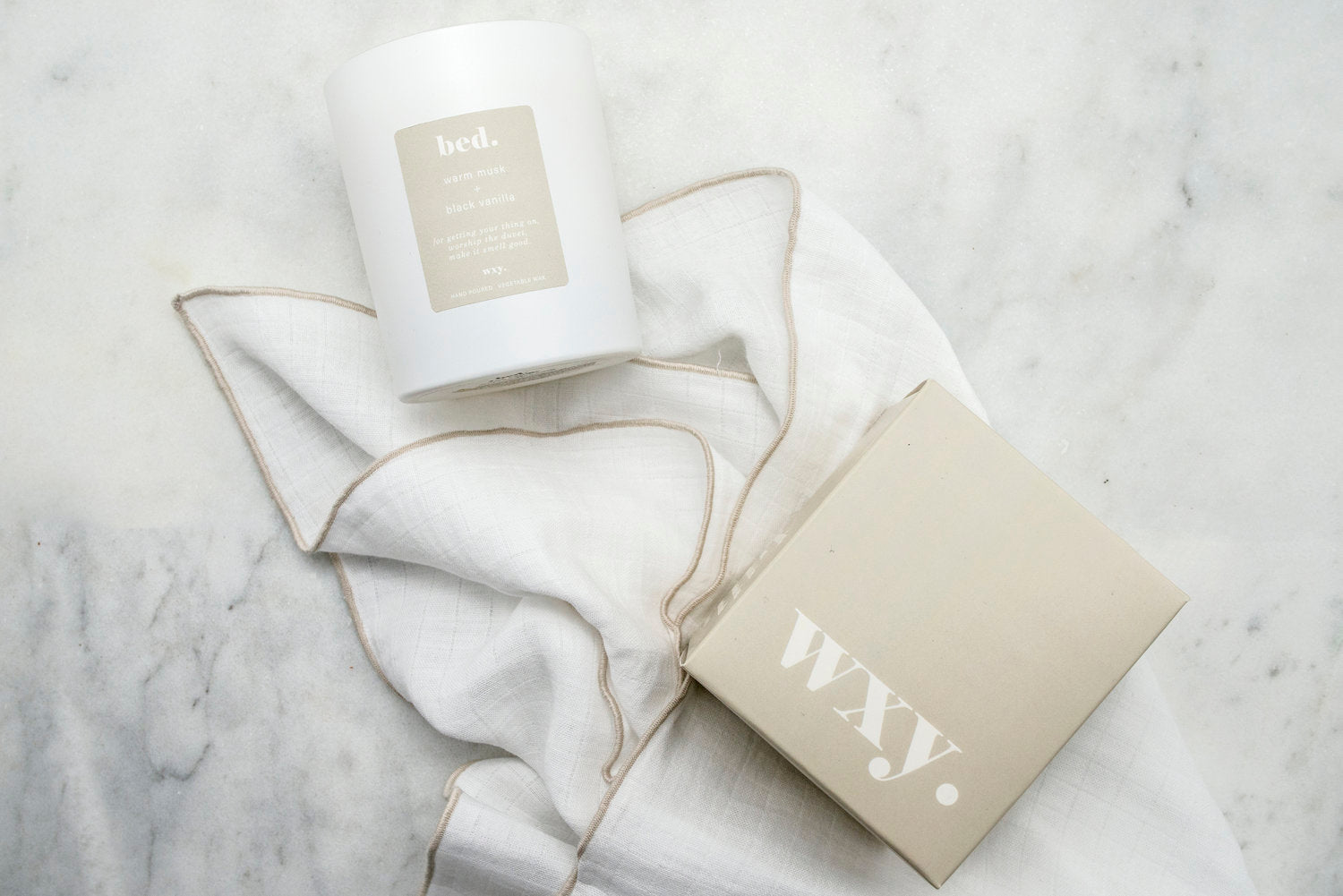 WXY 'BED' CANDLE - Large