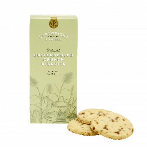 BUTTERSCOTCH CRUNCH BISCUITS BY CARTWRIGHT & BUTLER