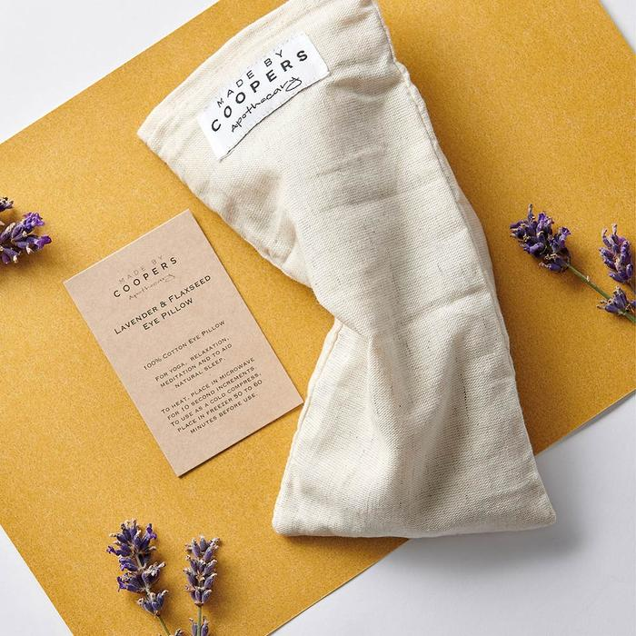 MADE BY COOPERS LAVENDER AND FLAXSEED EYE PILLOW