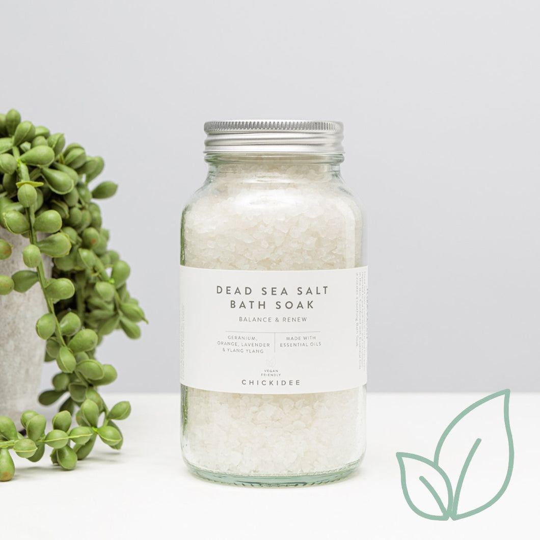 Balance and Renew Dead Sea Salt Bath Soak