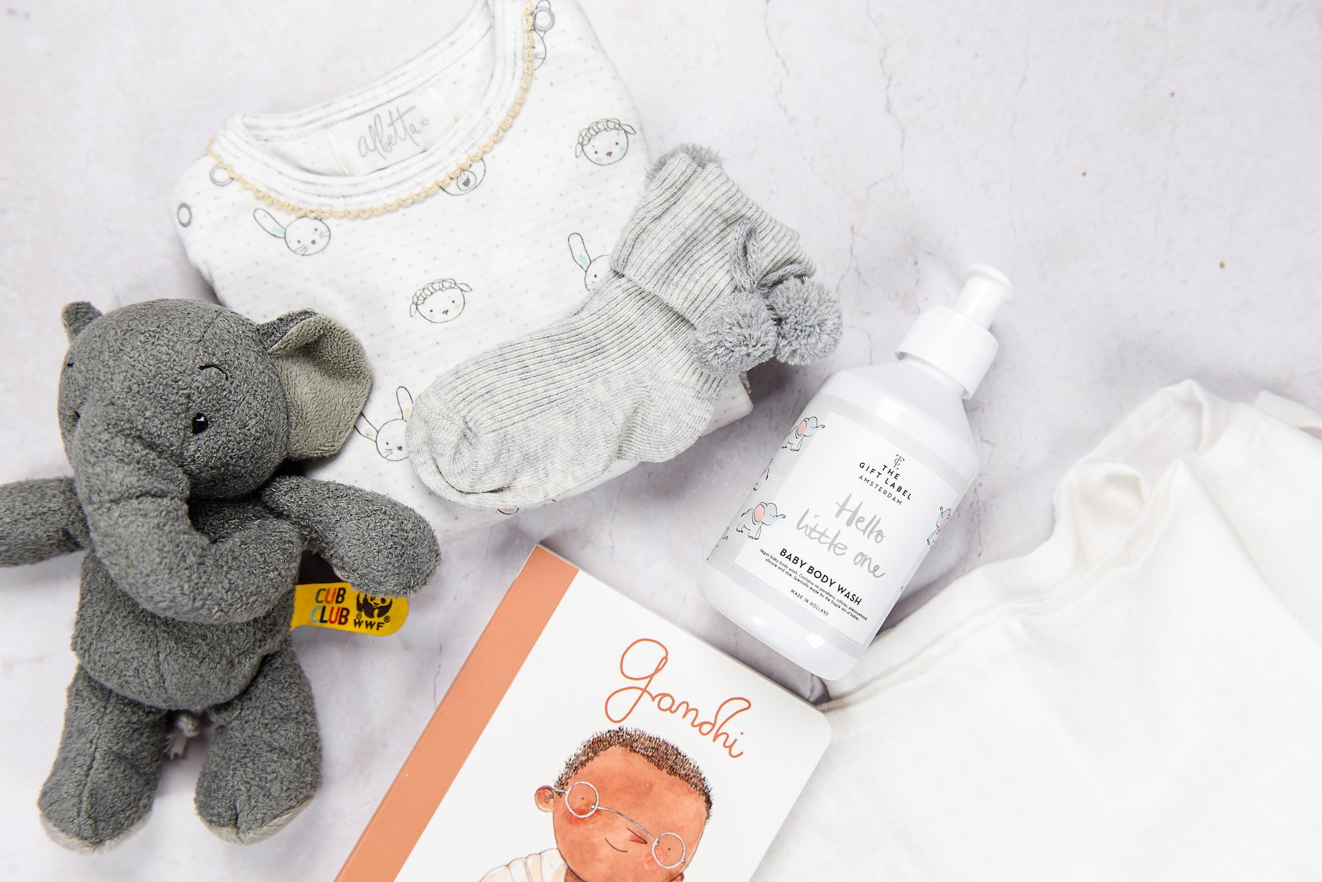 THE GIFT LABEL 'HELLO LITTLE ONE' BODY WASH