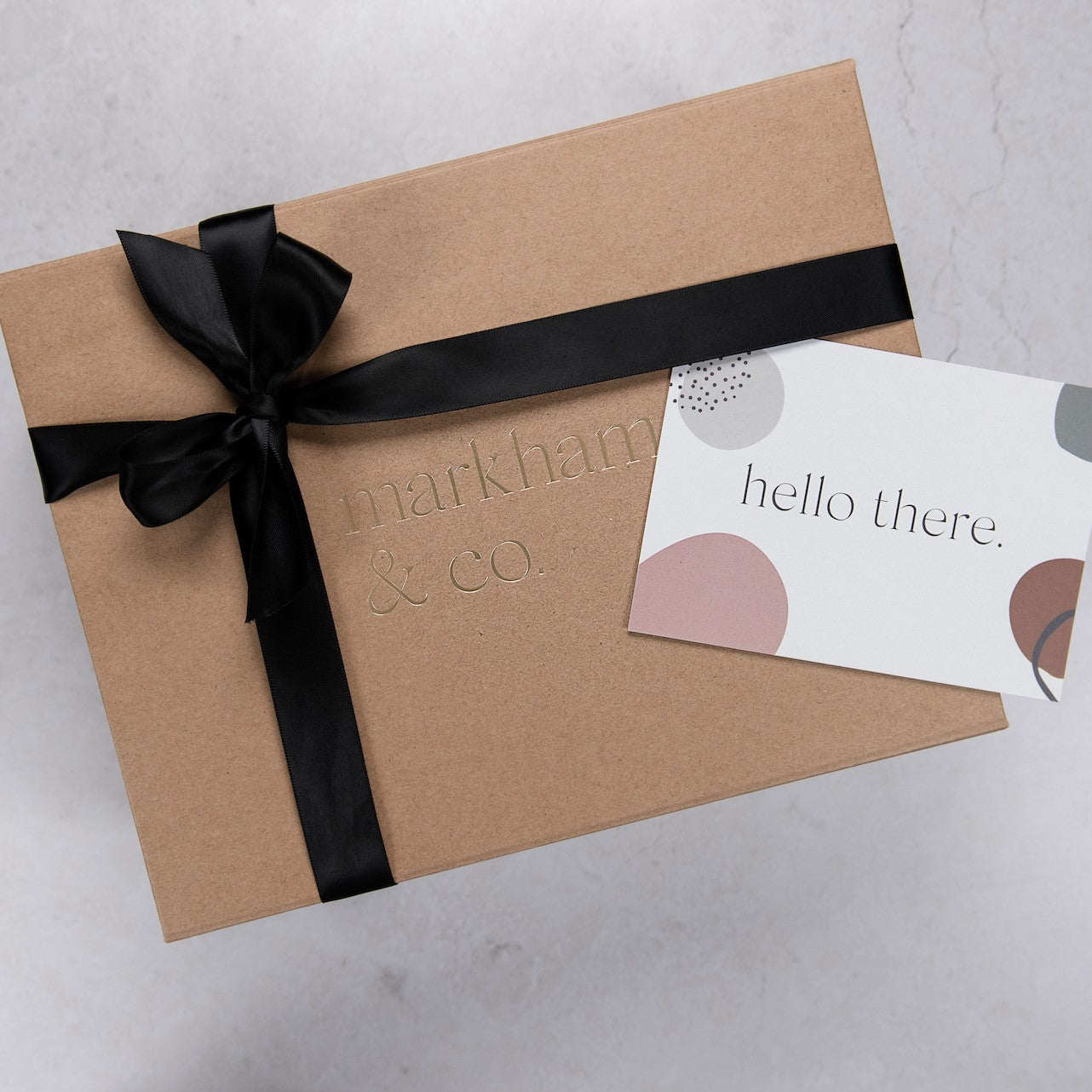 Markham & Co Signature Gift Box and Card